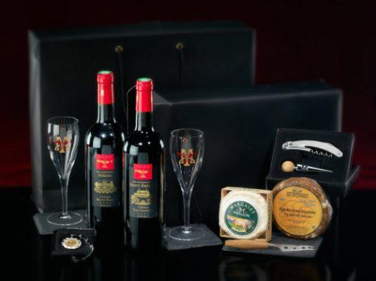 Premium Wine gift box maxims relatiegeschenk