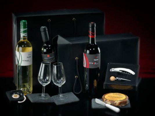 Premium Wine gift box Dimobe relatiegeschenk