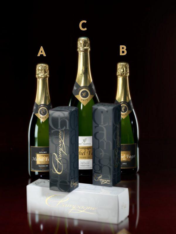 champagne gift box special michel fagot relatiegeschenk