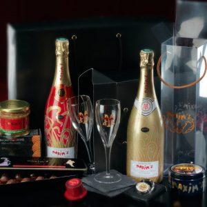 champagne maxims premium gift box relatiegeschenk
