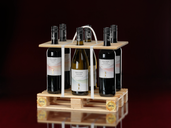 mini pallet wijn cadeau