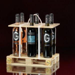 wijncadeau mini pallet wijn special ferret guasch relatiegeschenk